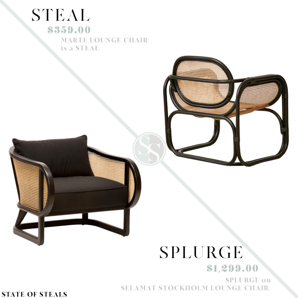 Sensational Modern Cane Lounge Chairs State Of Steals Andrewgaddart Wooden Chair Designs For Living Room Andrewgaddartcom