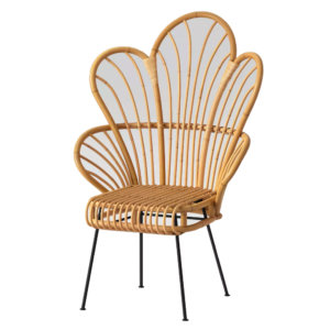 Excellent Flower Rattan Chair Look For Less State Of Steals Lamtechconsult Wood Chair Design Ideas Lamtechconsultcom